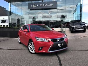 2014 Lexus CT 200h Touring Package Bluetooth Heated Seats