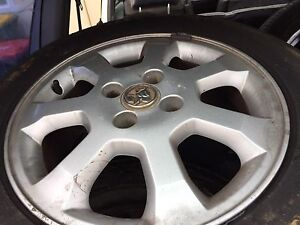 15inch rims & tyres size 195/60/15 set of 5 in great condition Padstow Bankstown Area Preview