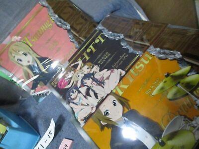 K-On! Japan Anime Folder Lot of 3 Chocolate Bar Themed  Themed Chocolate Bar
