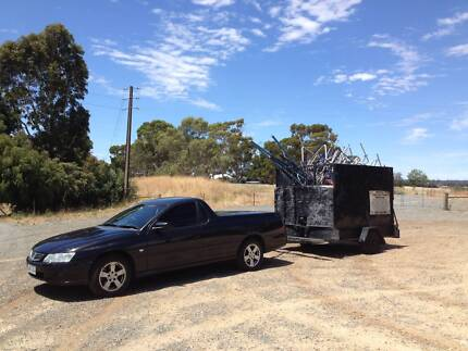 SCRAP METAL COLLECTION SERVICE FREE PICK UP Craigmore Playford Area Preview