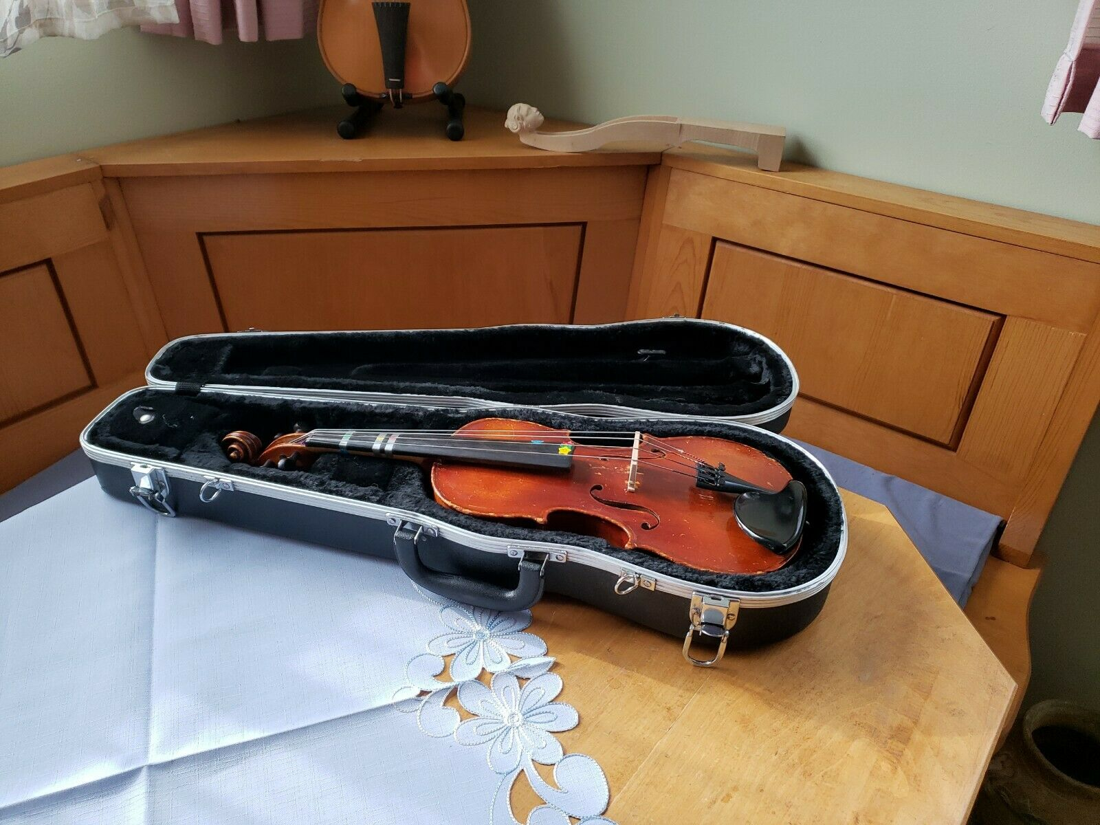 12 Inch Manfred H. Reinl Viola B2901 And New Bridge, For Repair Or Parts - $29.00