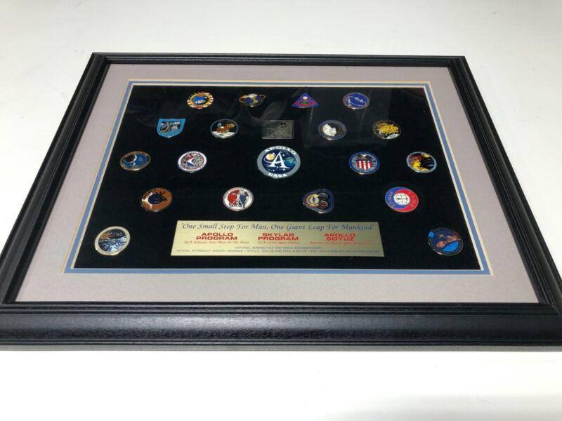 Apollo Program, Skylab Program, Apollo Soyuz Mission Pin Set, Including 20 Pins