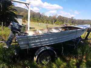 4m tinny+trailer+2 outboards Sunnybank Hills Brisbane South West Preview