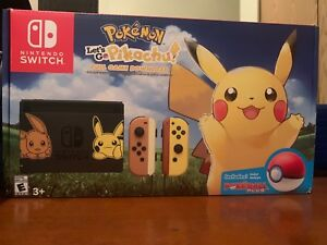 Let's go Pikachu switch