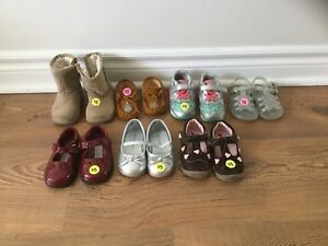 Size 4 toddler shoes, boots, sandals