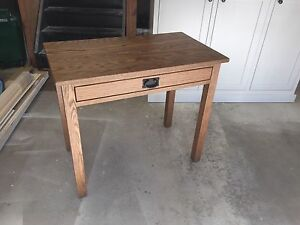 Brand new solid oak table or desk