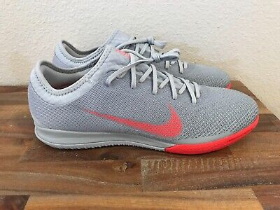 Nike Mercurial Vapor 12 Pro IC Indoor Soccer Shoes Grey/Red AH7387-060 Sz 10 for sale  Shipping to Canada