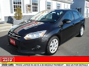 2014 Ford Focus SE $9595.00 with $2 K Down or Trade-in*