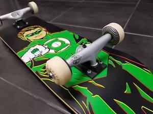"8.25""Almost skateboards GreenLantern-TENSOR MAGLIGHT-INDY7's-SPITFIRE"