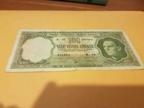 Turkey 100 Lira