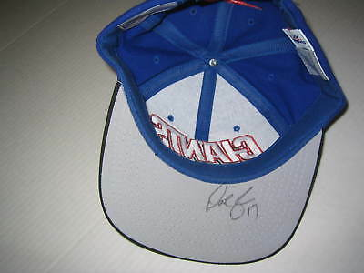 DAVE BROWN SIGNED NEW YORK GIANTS NFL CAP HAT (510)
