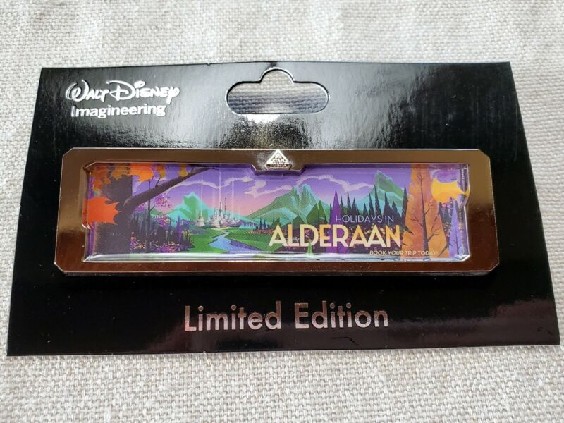 Disney WDI D23 Pin LE 300 Star Tours Wars Destinations Holidays in Alderaan