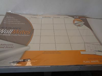 At A Glance Wallmates Dry Erase Calenders AW6020-28