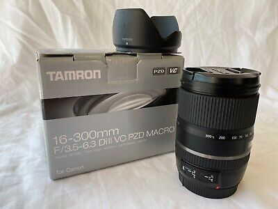 Tamron 16-300mm f/3.5-6.3 di ii vc pzd macro Lens for Canon EFS - A1 Condition