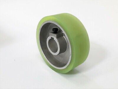 Wadkin Rubber Feedroller 140mm Dia X 50mm Wide X 35mm Keyway Bore Best Quality