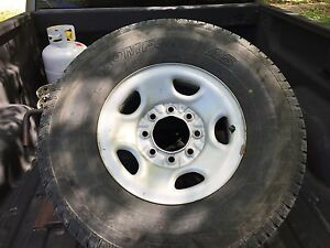 Tires rims set of 4