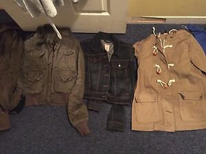 3 jackets for 25$