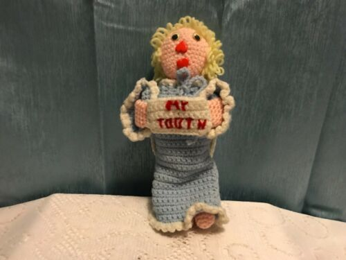 Handmade Crocheted Tooth Fairy