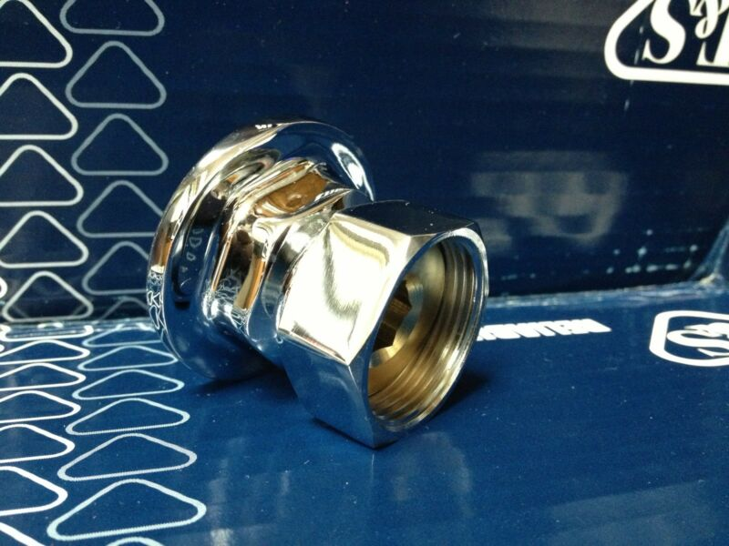 "NEW T&S Brass 00AA Union Coupling Inlets 1/2"" --  WITH Gasket/Washer"