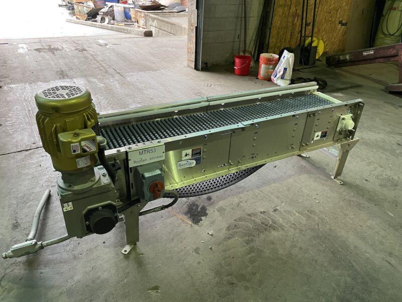 """14"""" x 80"""" Stainless Steel Packaging Conveyor, Table Top"""