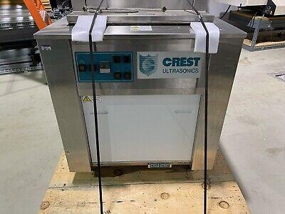 Large Triple Ultrasonic Cleaner Heated Wash Station Crest Genesis