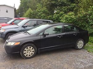 2006 honda civic 4 door auto 3495.00