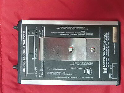 Metrosonics Db-3100 Sound Audio Analyzer Disometer