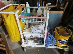 Cleaners Trolley with contents Plus Loganlea Logan Area Preview