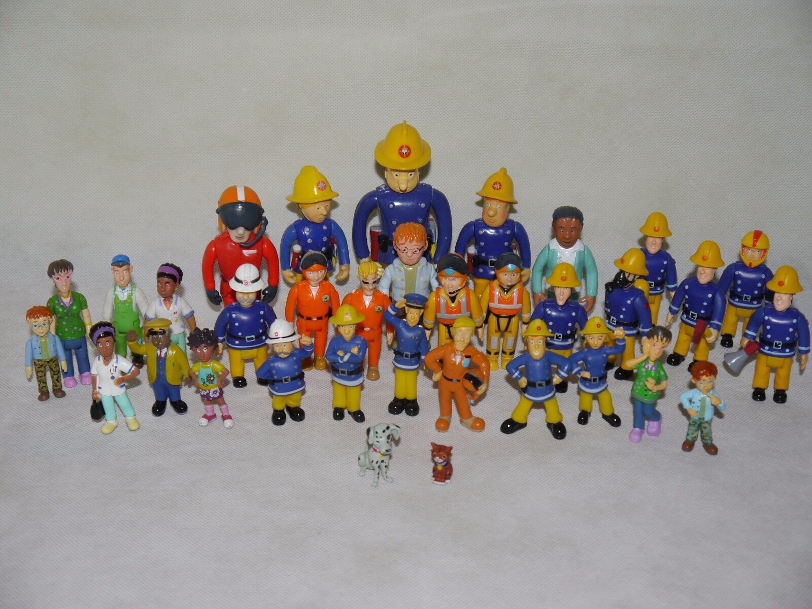 Fireman Sam Figures~Mike,Helen & Mandy Flood,Steele,Dilys,Elvis,Penny,Tom..-Used