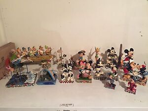Disney Figurines By Jim Shore