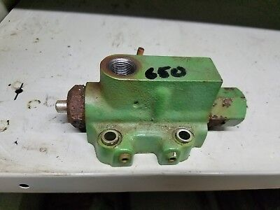 Ch16132 Lva801753 John Deere 650 Rockshaft Valve