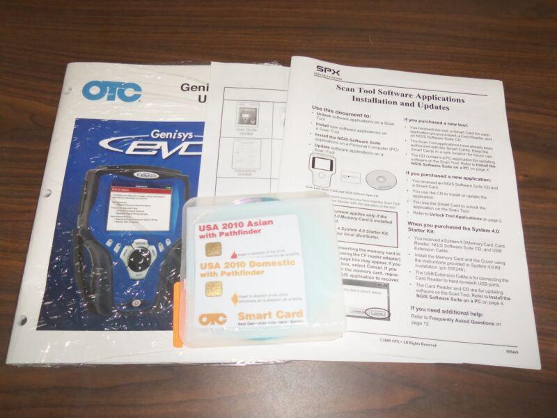 OTC Genisys Evo Super Bundle Software 2010 Domestic, 2010 Asian with Pathfinder