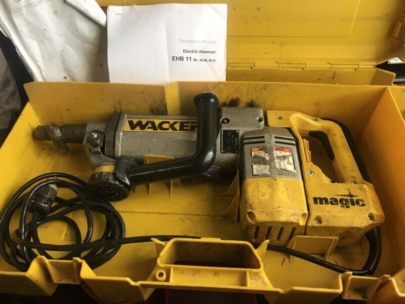 Wacker Electric Hammer Drilling Chiselling  EHB 11 BLS/115