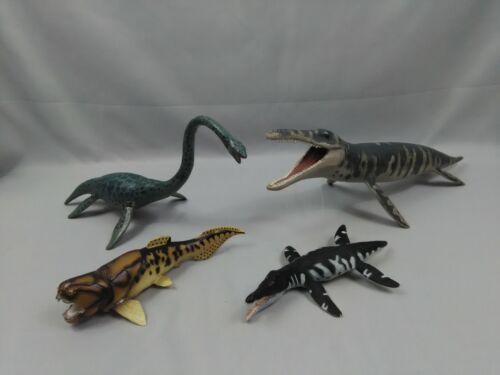Lot of 4 Safari Ltd Carnegie Elasmosaurus Kronasaurus Liopleurodon Dinosaur