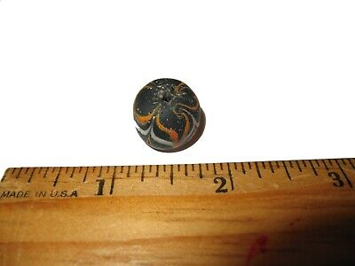 Ancient Roman empire super glass bead large specimen 2000 years old lovely #6