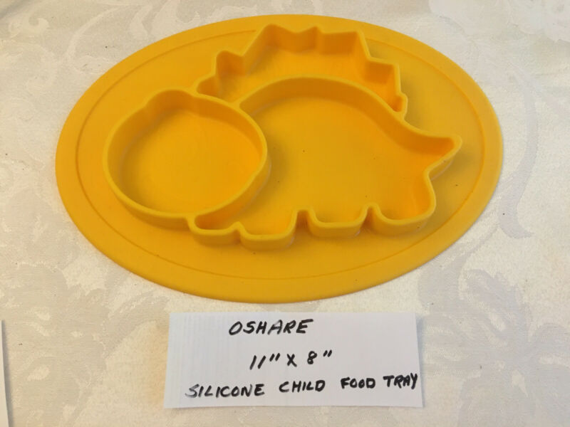 Silicone Child Food Tray