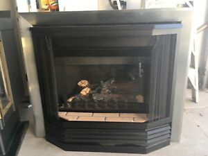 Gas Fireplace with instructions