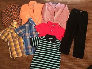 Boys size 6 clothes (8 for $25)