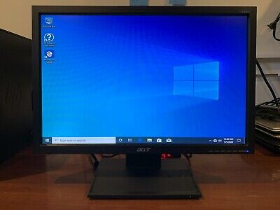 "Acer V193W 1440 x 900 Widescreen  LCD Monitor 19""with Stand, Power & VGA Cables"