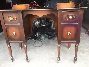 Antique Vanity and Chair 1928 -- $180