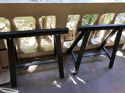 Two free IKEA trestle legs