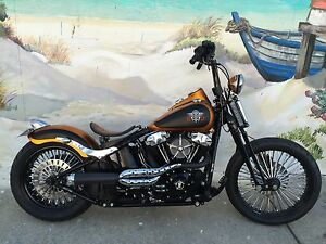 Harley Davidson Custom Crossbones FLSTB Fremantle Fremantle Area Preview