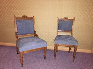 Antique chairs 4+1