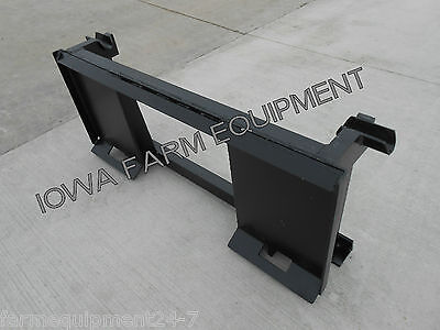 Skid Steer Quick Attach To John Deere 600 700 Series Quick Attach Adapter
