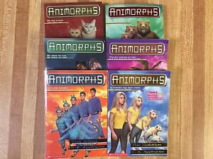 6 Animorphs Chapter Books (Ages 9-12)