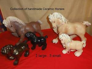 Ceramic horses Murray Bridge Murray Bridge Area Preview