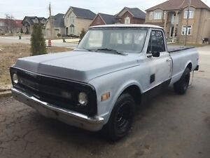 1970 Chevrolet C/10 Fleet Side long box