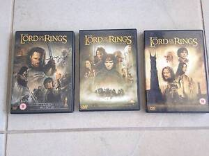 The Lord Of The Rings trilogy - DVD's Shailer Park Logan Area Preview