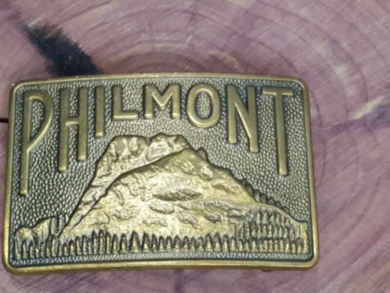 PHILMONT NEW MEXICO BELT BUCKLE Vintage