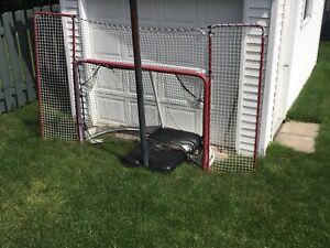 Filet de hockey de rue